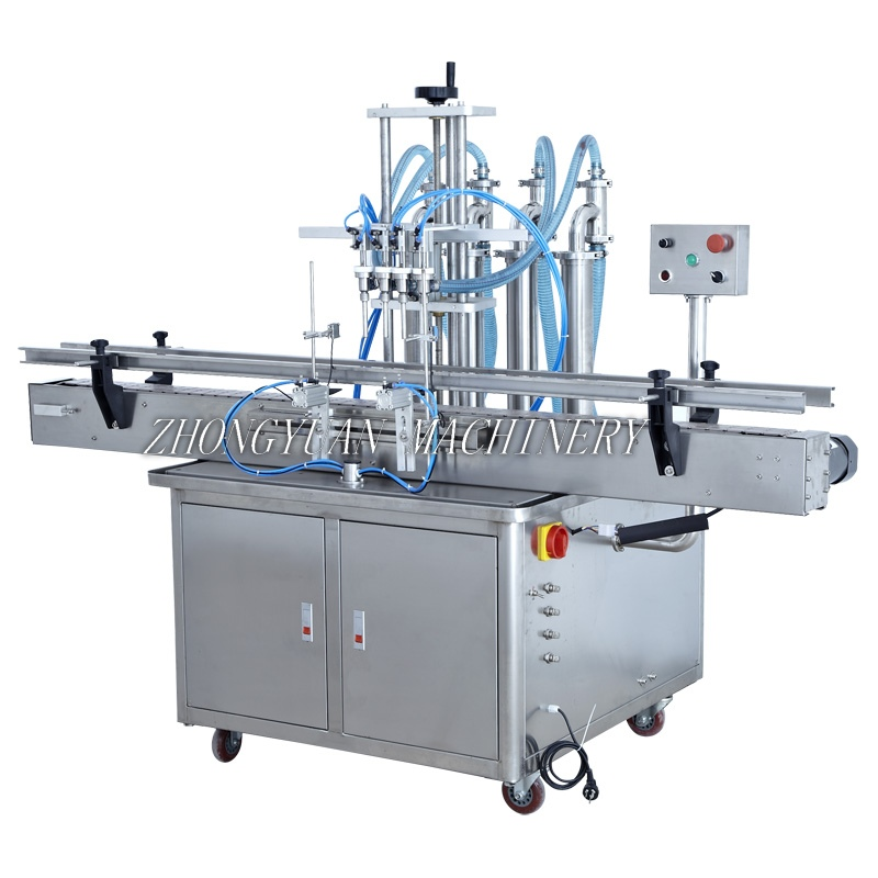 YT-Series Automatic Piston Type Liquid Filling Machine