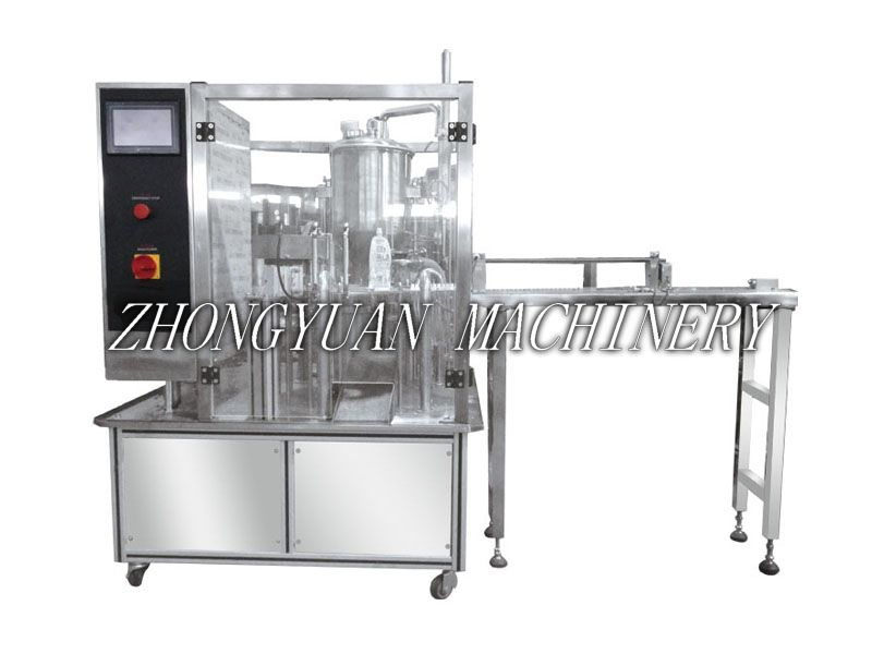ZPZD-1200 Automatic Stand-up Pouch Liquid Filling and Capping Machine