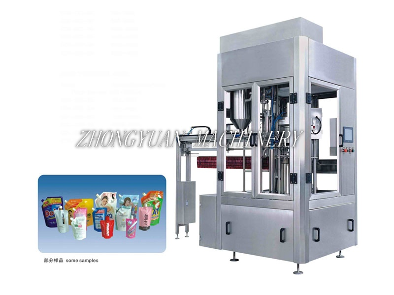 KSX-ZD Automatic Stand-up Pouch Filling and Capping Machine