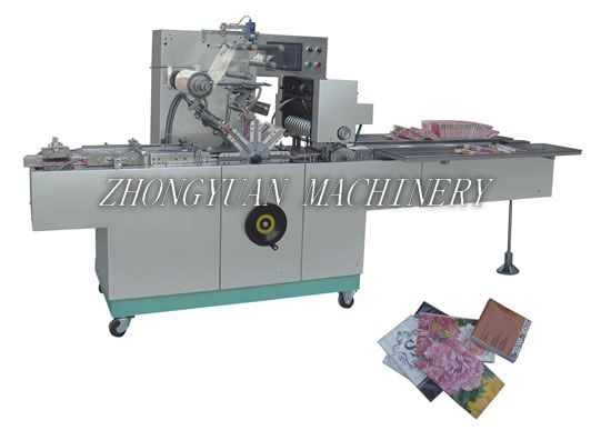 BTB-300C Cellophane wrapping machine