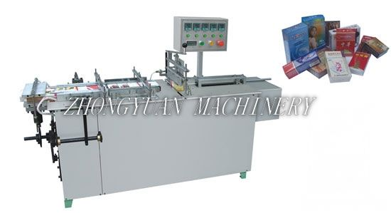 BTB-I Semi - automatic cellophane wrapping machine